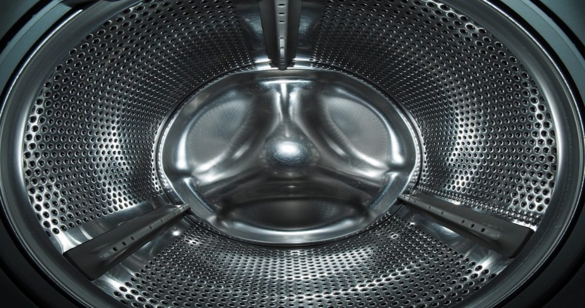 Inside of a washing machine