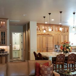 Home renovation with custom cabinetry in Clovis