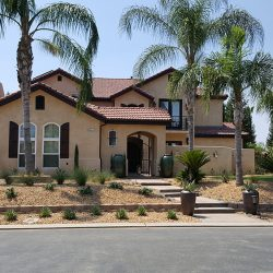 Home that just received custom home renovation services
