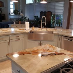 Custom countertops and kitchen design in Fresno
