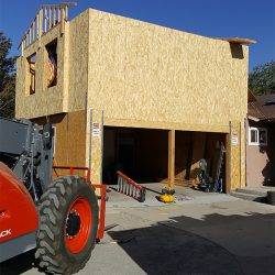 Building a garage and room addition in Fresno