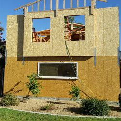 Beginning a room addition and home remodeling in Fresno