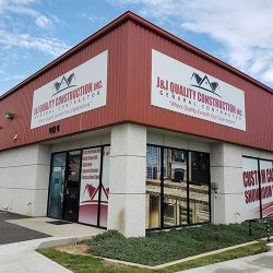 J & J Quality Construction cabinet showroom in Fresno
