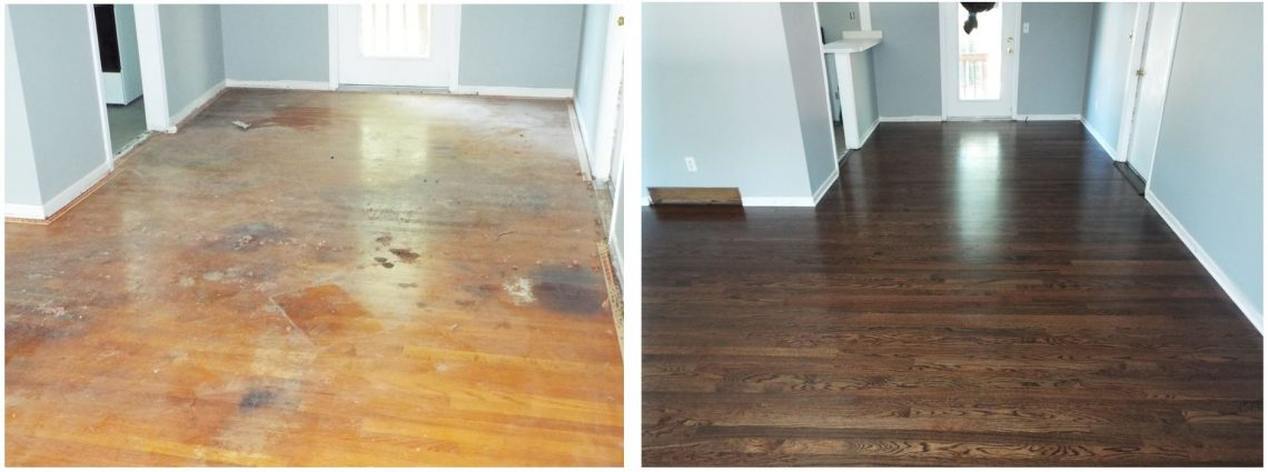 Let JRK refinish your hardwood floors