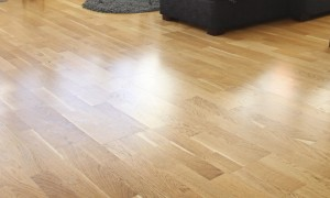 Hardwood flooring in tan from JRK Flooring