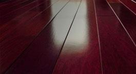 Red is a popular color in Hardwood flooring. JRK Flooring