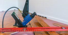 Image of Hardwood Floor and Tool