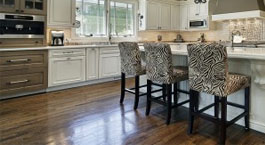 Kitchens and living spaces from JRK Flooring.