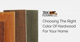 Choosing the right color hardwood flooring featured image