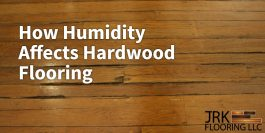 Humidity and wood floor infographic