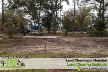 We provide land cleaning landscaping services!