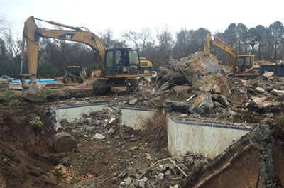 Commercial demolition is our specialty!