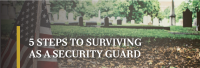 How to survive as a security guard