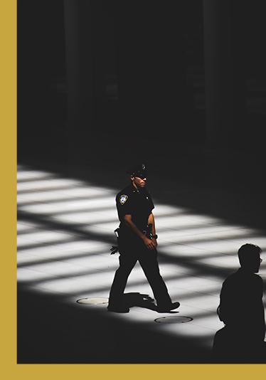 Security Guard Walking