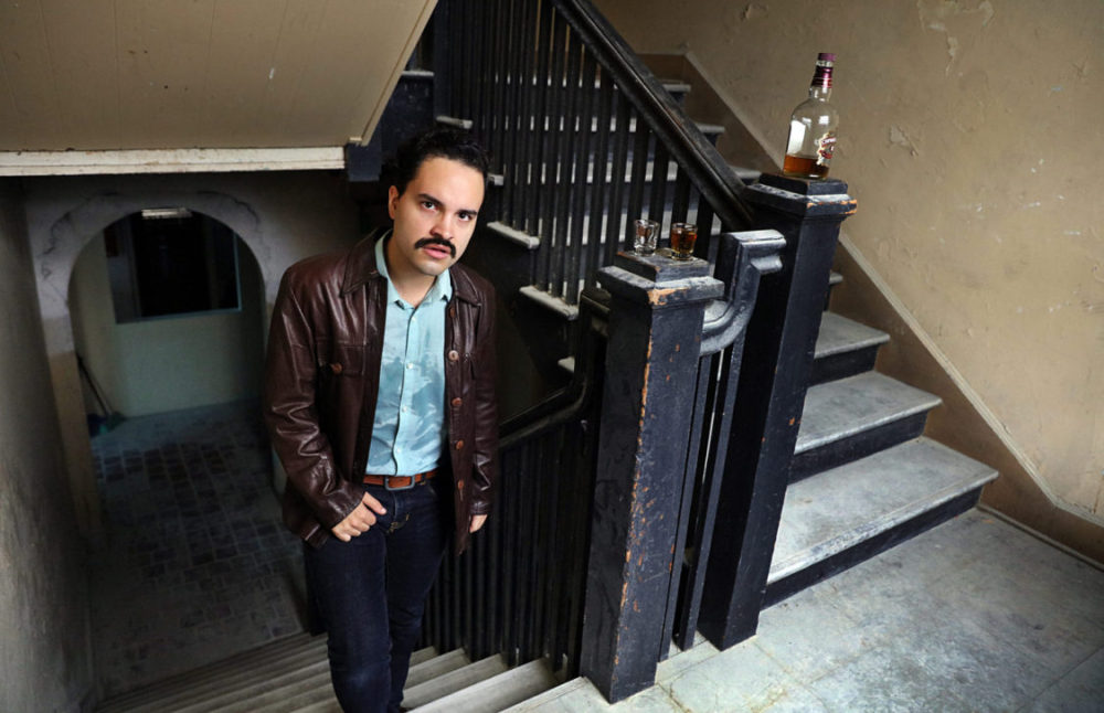 Tower Hotel Stories Actor Ernesto Gonzalez as Puertorican.