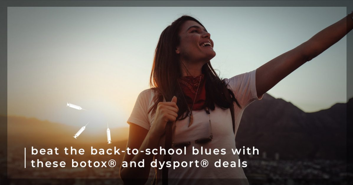 August Dermatology Specials - Save On BOTOX Near Me In