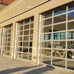 Transparent Panel Overhead Doors