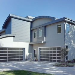 Modern Multi-Panel Garage Door