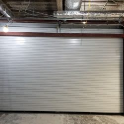 Roll-Up Door Construction Completed