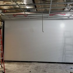 Roll-Up Door Under Construction