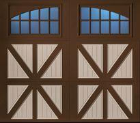Barn-Style Garage Door