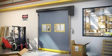 Fabric Commercial Garage Door