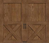 Wooden Barn-Style Doors