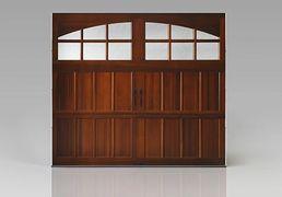 Sample Wooden Garage Door