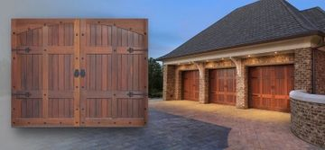 Wooden Garage Door Styles