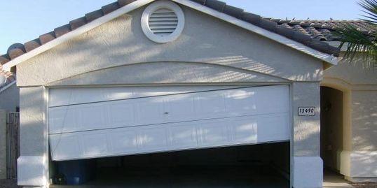 Misaligned Garage Door