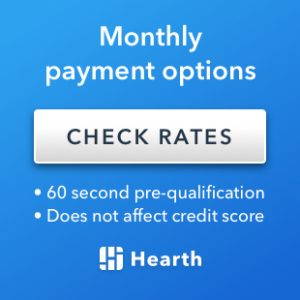 Check rates for monthly payment options. 60 second pre-qualification. Does not affect credit score