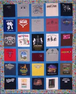 Travel T-Shirt Quilt