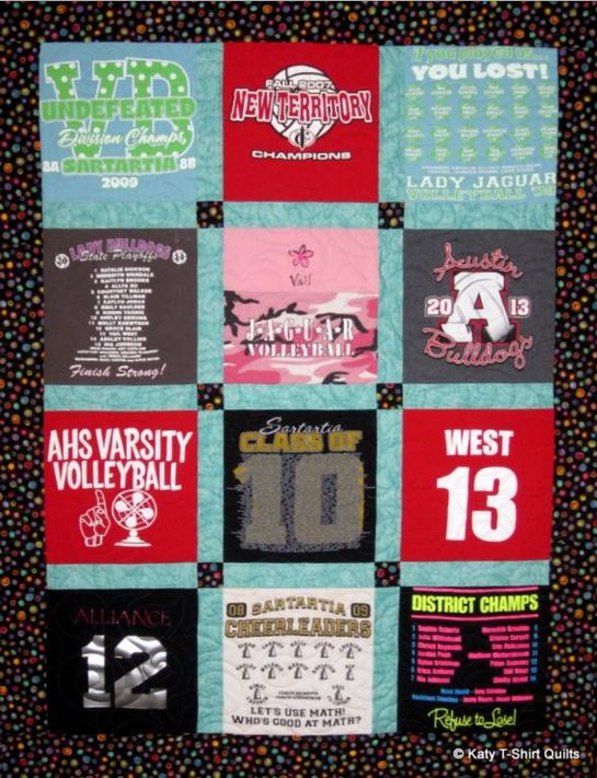 Order Graduation T-Shirt Quilts Now | Katy T-Shirt Quilts : order t shirt quilt - Adamdwight.com
