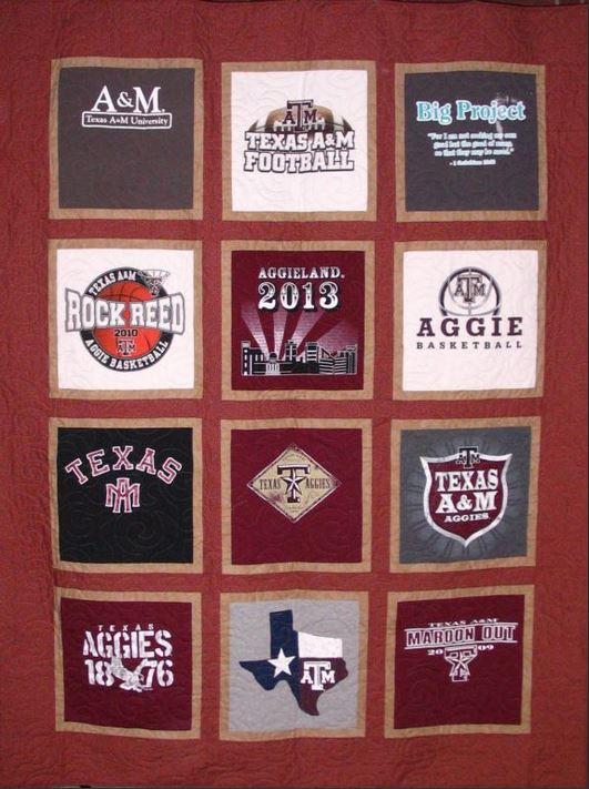 T Shirt Quilt Makers Tee Shirt Quilts T Shirt Blankets