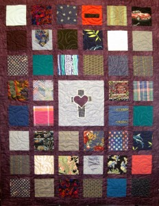 Sashed Memory Quilt