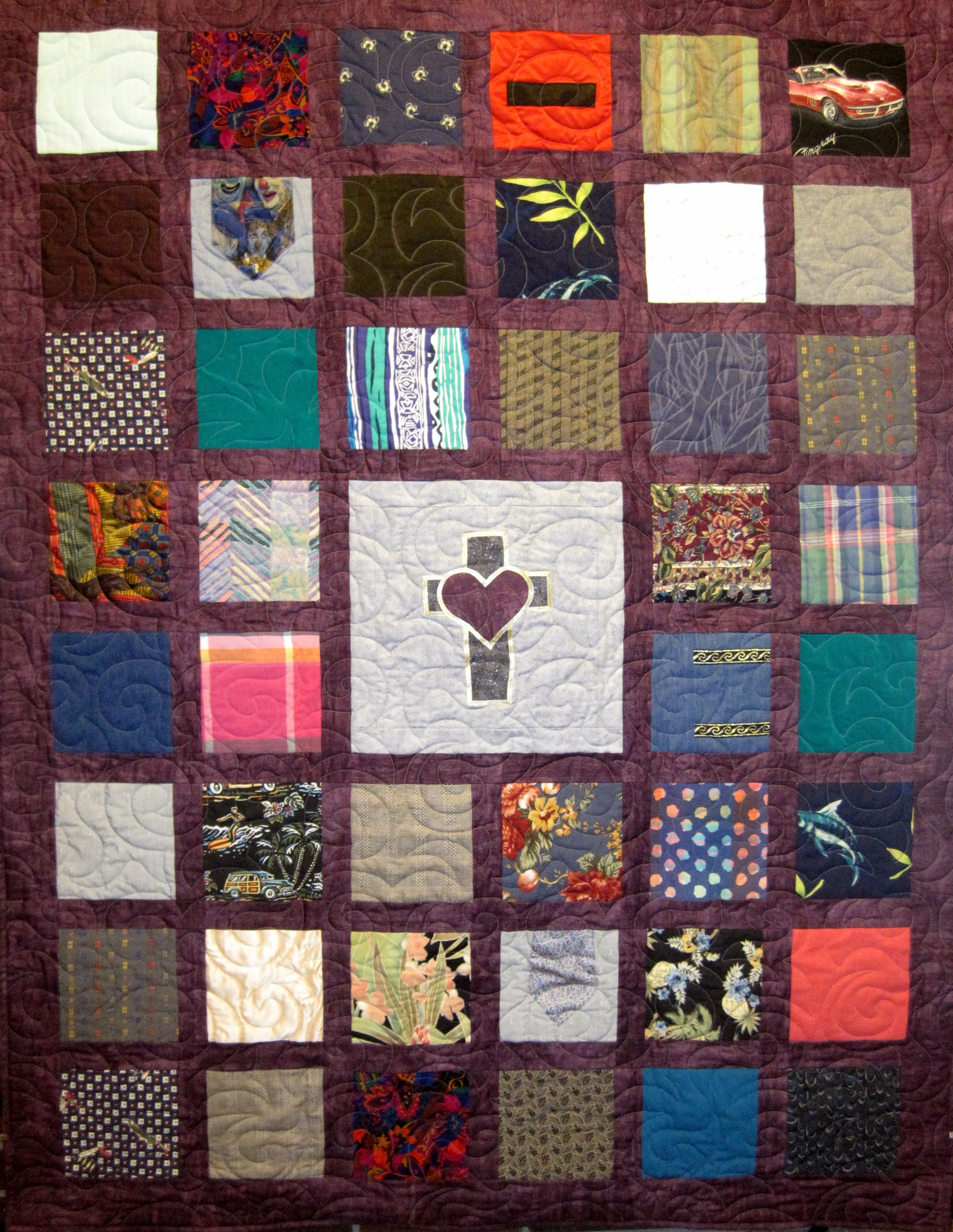 Memory T Shirt And Clothing Quilts Have Special Meaning