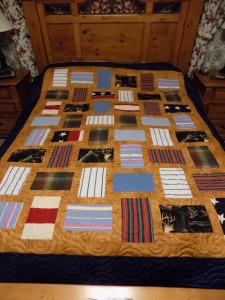 Fractions Clothing Quilt
