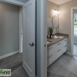 Bathroom and hallway home renovation - Kay2 Contracting