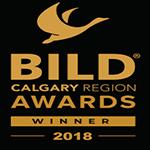 BILD Calgary Region Awards Winner 2018
