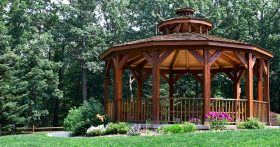 kay2 calgary landscaping and renovation. Gazebo designs.
