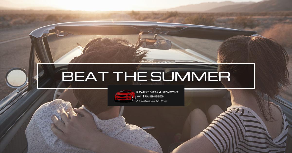 Beat The Summer CTA Banner