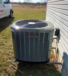 A Batavia home worked on by our AC company