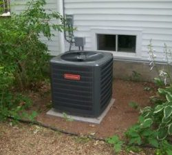 A picture of a successful HVAC installation in a Batavia home