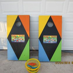 Rentable Cornhole Game