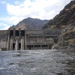 The dam at Hells Canyon
