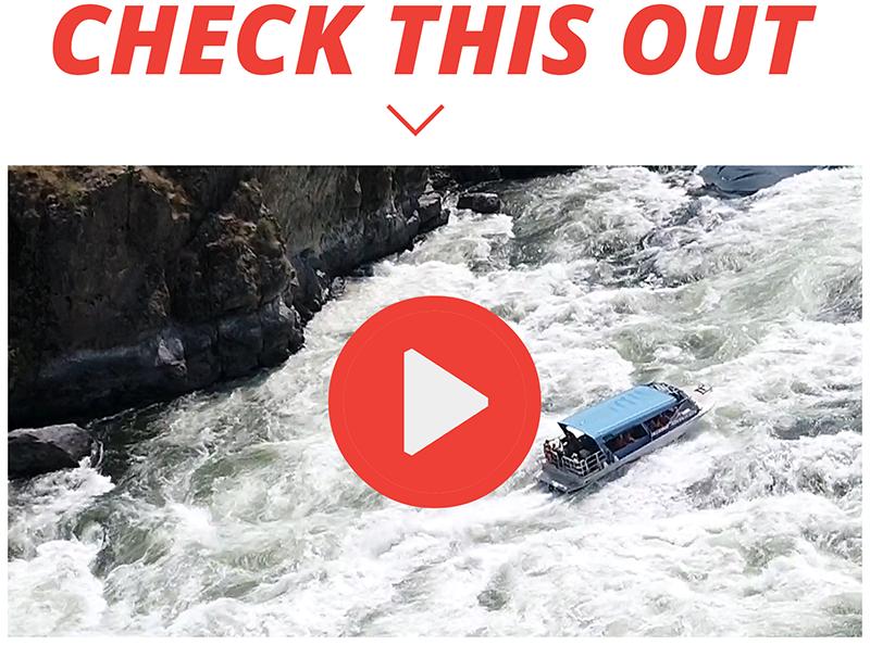 Killgore Adventures Hells Canyon Jet Boat Tours