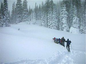 KMA Snowshoe Distance
