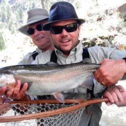 Fly Fishing in Colorado-Rainbow Catch at Waterdale-Kirk's Flyshop