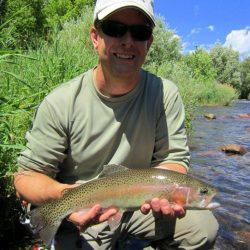 Fly Fishing in Colorado-Beautiful Catch-Kirk's Flyshop