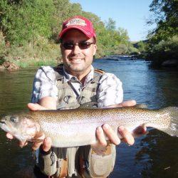 Fly Fishing in Colorado-Medium Size Catch on Waterdale River-Kirk's Flyshop
